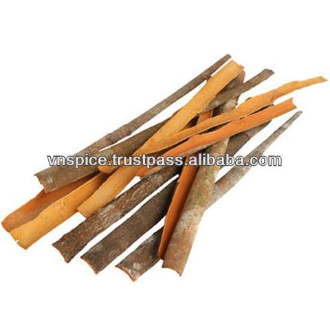 Split cinnamon cassia - very thin, yellow color products,Vietnam Split cinnamon cassia
