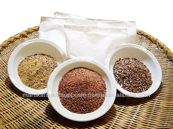 High quality teabag style dryed bonito powder pack names spices seasonings
