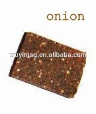 factory supply Onion flavor bouillon cube