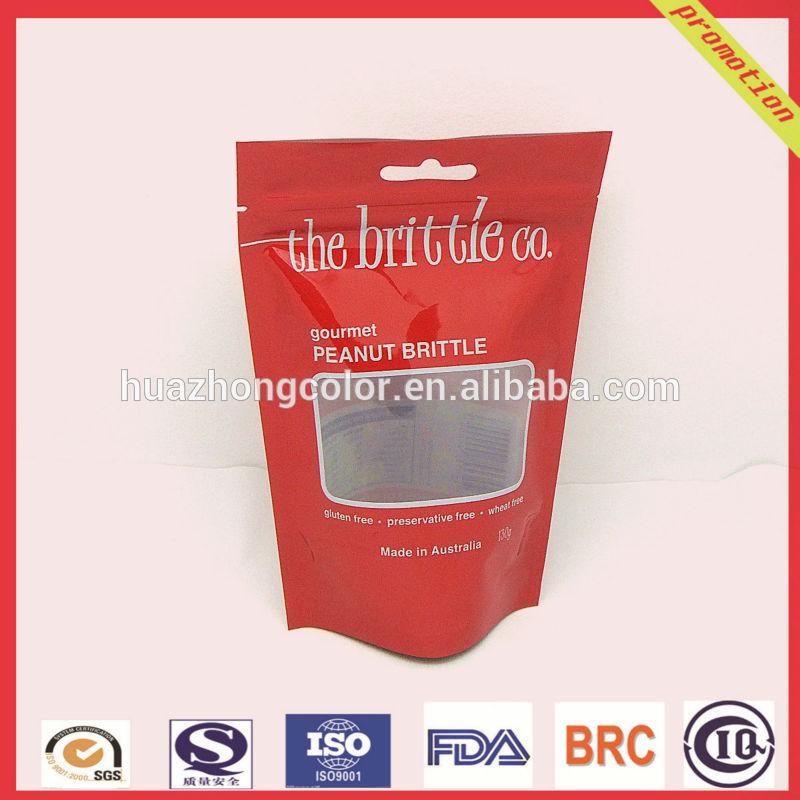 custom printing plastic packaging