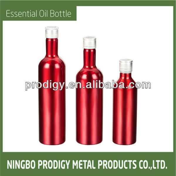 Aluminum Oil Bottle With BEATIFUL CAP products,China ...