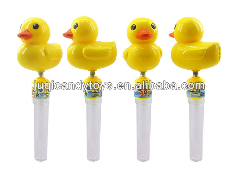 GIGGLE DUCK CANDY TOY (817 TUBE)