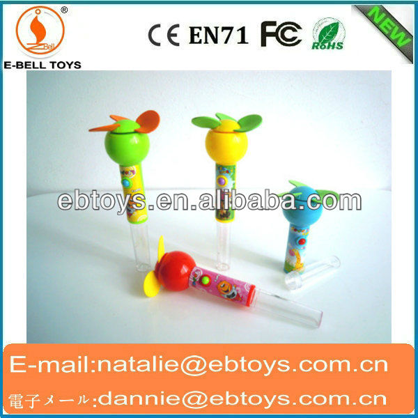 Electric mini fan toy sweet candy