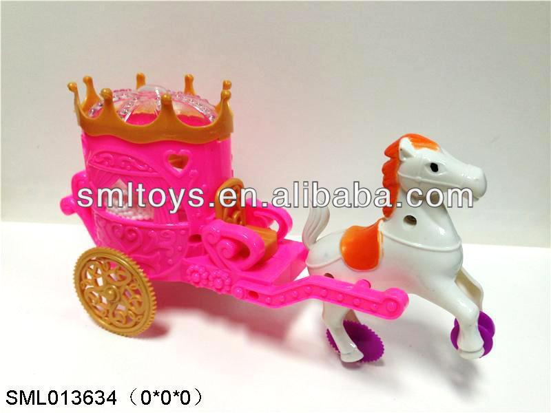 hot toy candy Princess carriage candy toy