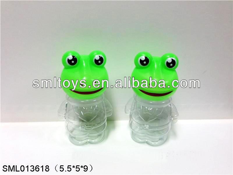 ShanTou Candy Toy Plastic Candy Toys Toy Small frog bottle