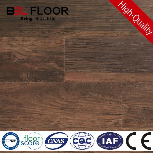 5mm Dark Chocolate Cypress Registered in Emboss vinyl plank flooring BBL-96092-I