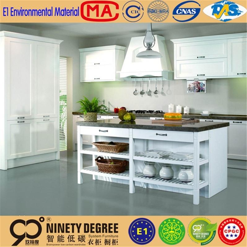 High degree low price for melamine kitchen cabinet dark chocolate