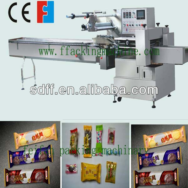 Automatic horizontal chocolate bar packing machine with ce for Food bar packaging machine