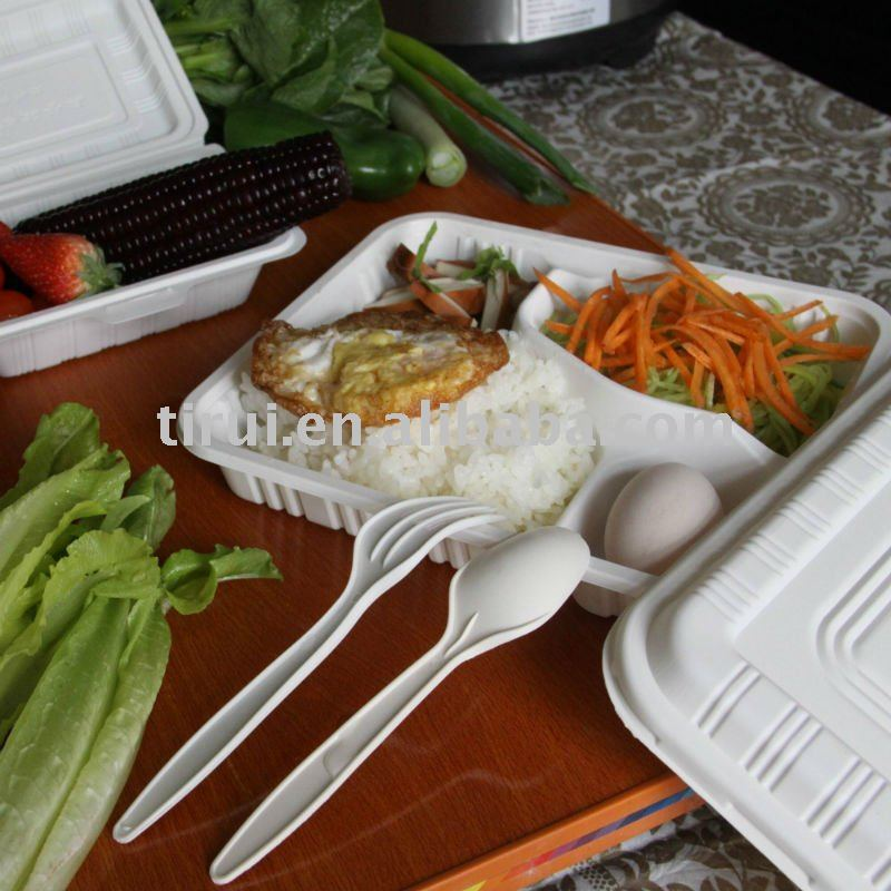 biodegradable corn starch food container products,China ...