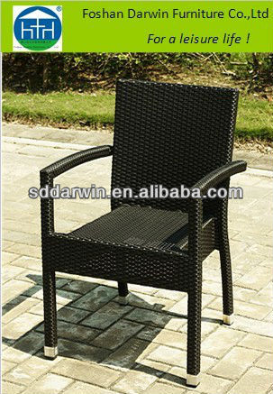 Europe classical outdoor rattan furniture arm chair dw for Outdoor furniture europe