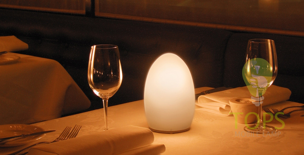 12v Battery Operated Flickering Candle Sticks  Glass Table