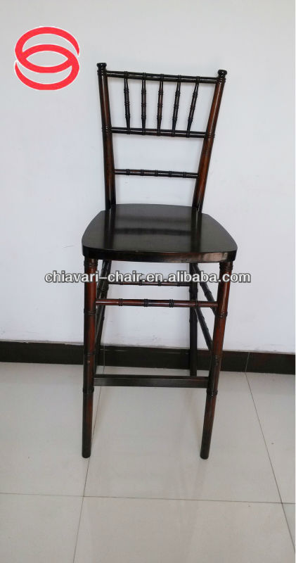 wooden bar stool solid wood bar chiavari chairs