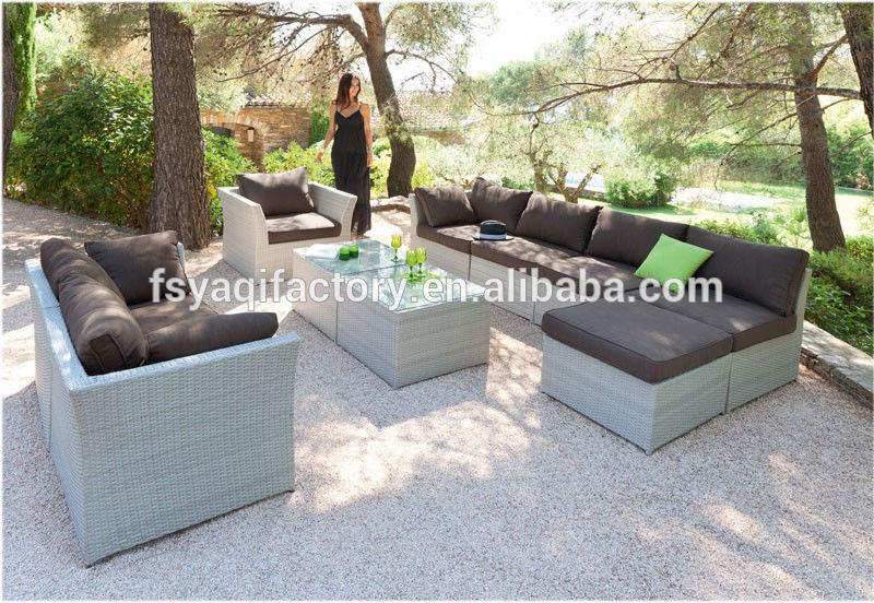 New arrival rattan sofa aluminium outdoor furniture ya 3080 products china new arrival rattan - Table jardin naterial villeurbanne ...
