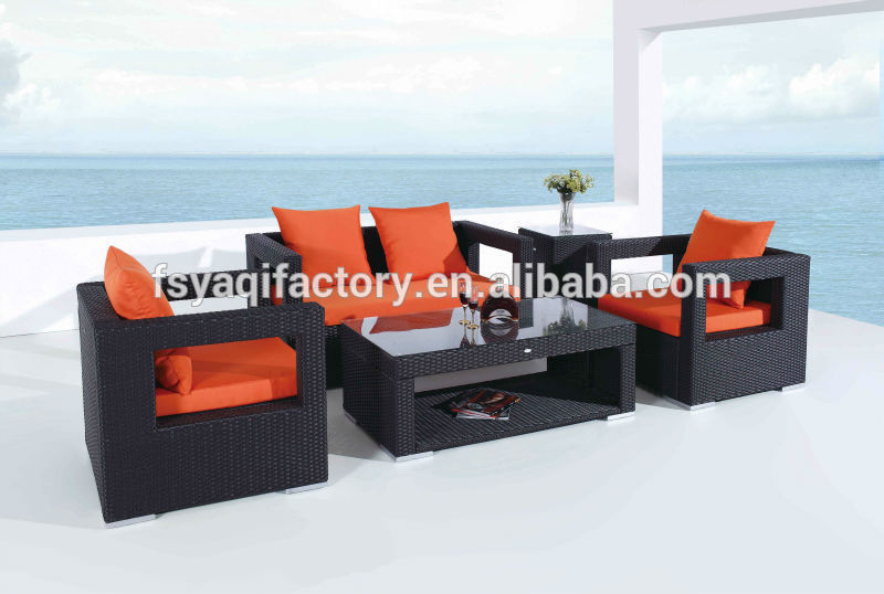 High quality synthetic plastic rattan furniture with UV-proof(YA-3003)