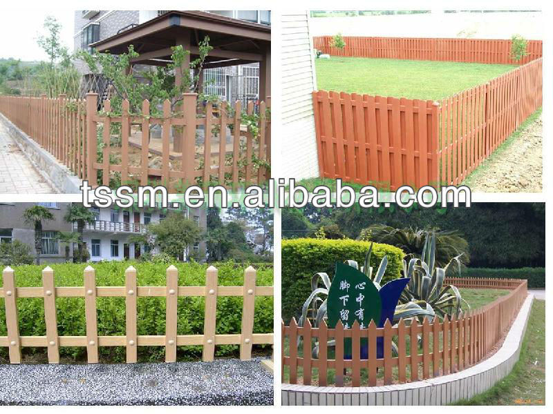 outdoor yard decorative fence