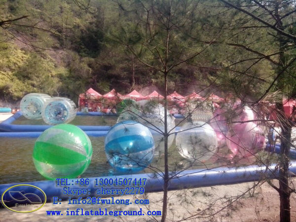 Inflatable bumper ball/bubble football/body zorbing bubble ball