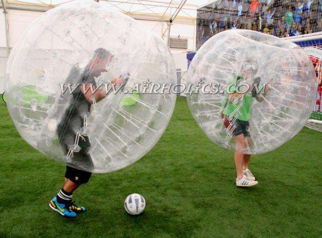 Bubble Soccer with Knockerball USA - YouTube