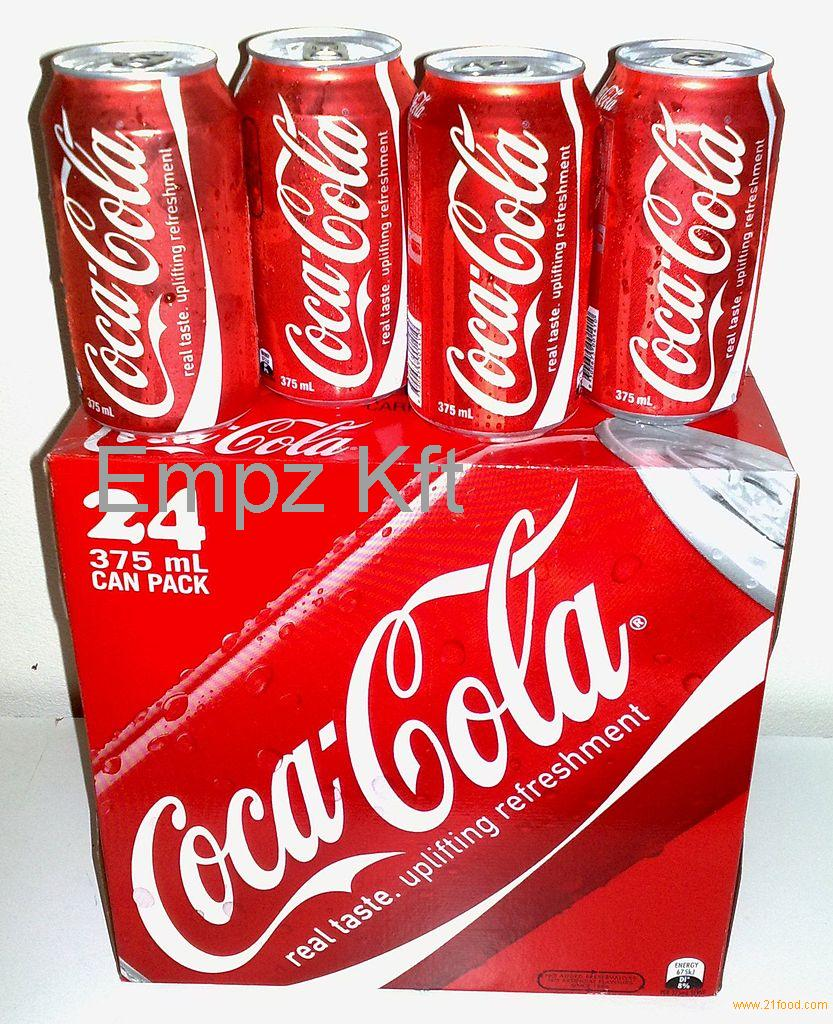 CAN 330 ML SOFT COCA COLA DRINKS