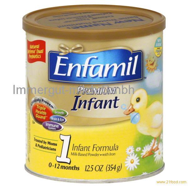 Powder milk for baby
