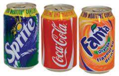 Sprite / Fanta soft drinks