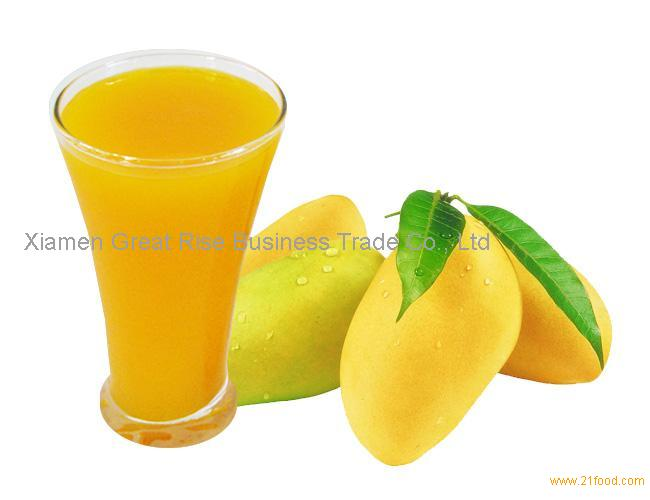how to make mango juice concentrate