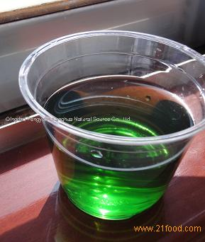 Chinese hot sale green natural color Chlorophyll