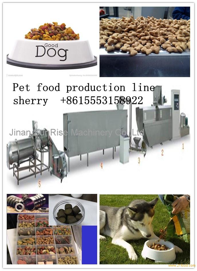 014 Fully Automatic Fully automatic dry pet dog food processing equipment machine