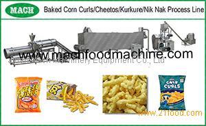 Corn Curl /Kurkure NikNak Cheetos Snacks food Process Machines