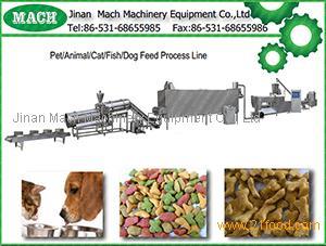 big capacity cat,dog Chewing pet food processing equipment