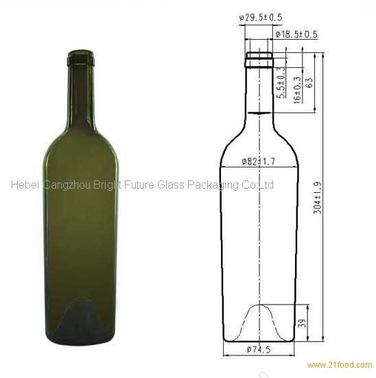 Standard Wine Bottle Dimensions Cm Image Collections