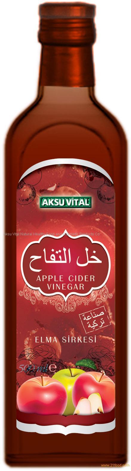 Natural Apple Cider Vinegar in Glass Bottle 500 ml