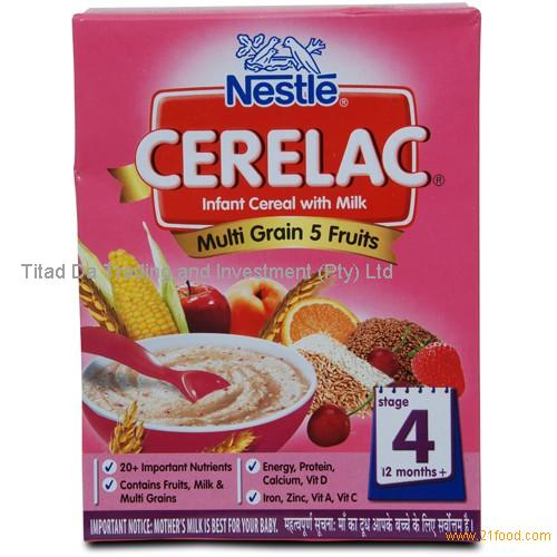 CERELAC Wheat 5 Fruits