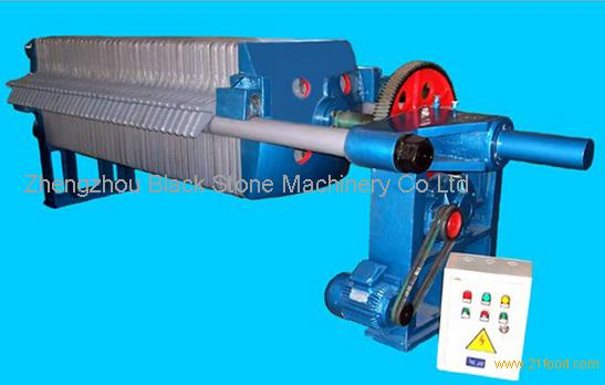 Heat-resistant cast iron filter press for oil