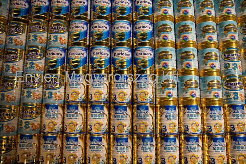 Baby Milk Powder 123 in Tin Can