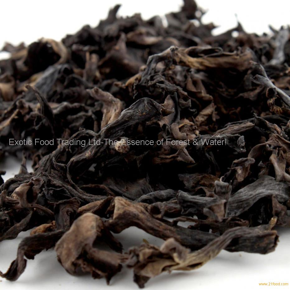 how to prepare dried black trumpet mushrooms