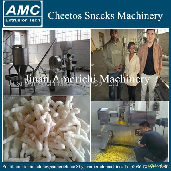 Kurkure Snacks Making Machine