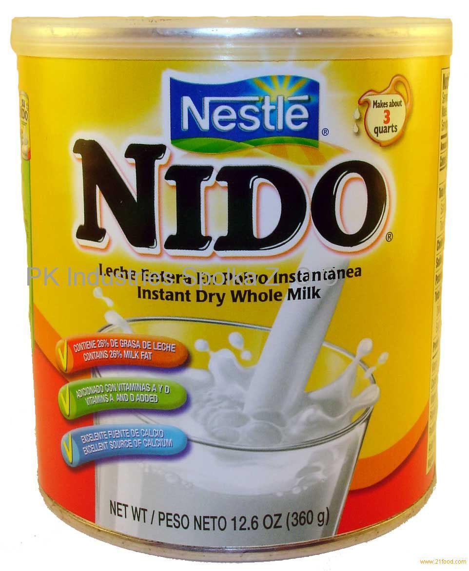 Fortified Instant Nestle Nido Milk Powder Nido Red Cap