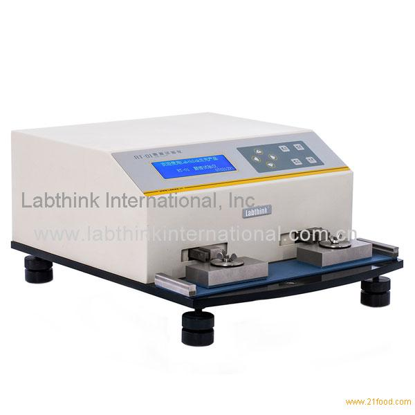 Resistance Tester Through Materials : Precise abrasion resistance of printed materials by the