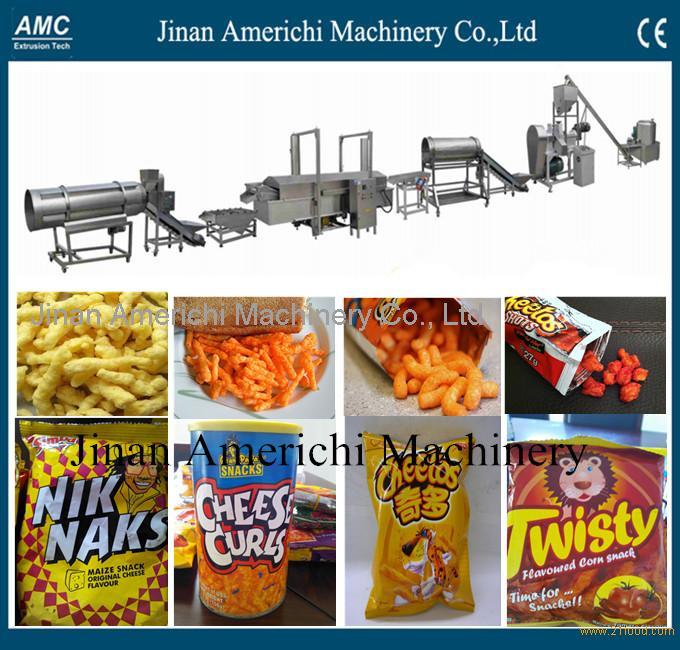 Nik Naks Snacks Making Machine