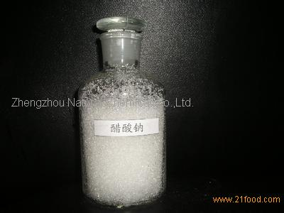 Food Grade Sodium Acetate/Sodium ethanoate/127-09-3