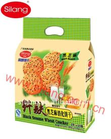 380g Black Sesame Digestive Biscuits