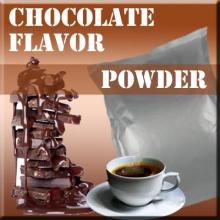Flavor powder chocolate