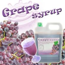 Grape concentrate syrup