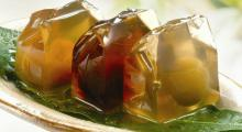 Fruit flavor grass jelly powder,ice jelly powder