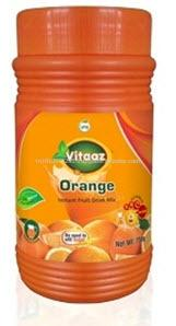 INSTANT DRINK POWDERS Orange Flavours 750 g Jars