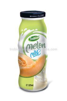 325ml Glass bottle Melon milk