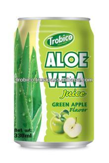 330ml canned Apple flavor Aloe Vera
