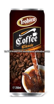 250ml Slim Can Black Coffee Drink