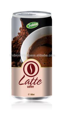 Natural 180 ml Latte coffee drink