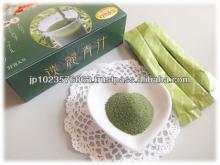 Instant powder high quality tanrei green juice bulk soft drinks containing beauty ingredients